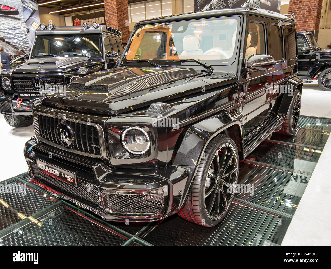 Suv Brabus G V12 900 Based On A Mercedes Amg G 63 With 900 Hp At The Iaa 2019 In Frankfurt Stock Photo Alamy