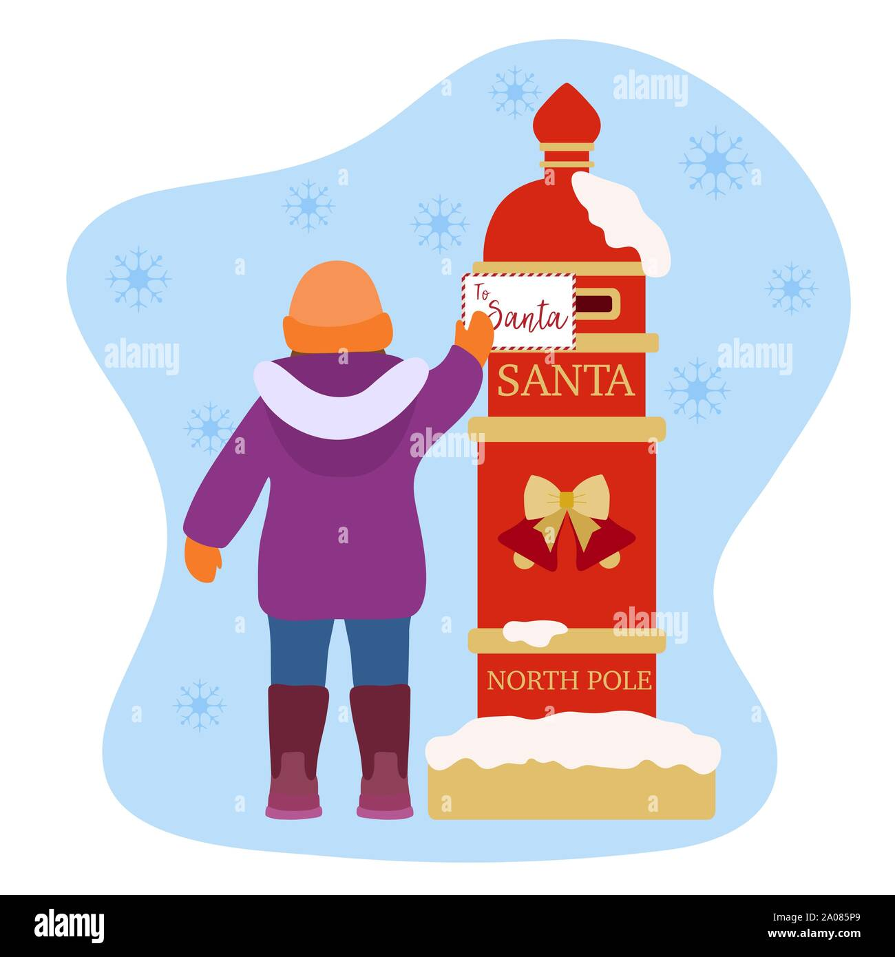 Christmas Wish List 2020.Happy New Year 2020 Merry Christmas Vector Illustration