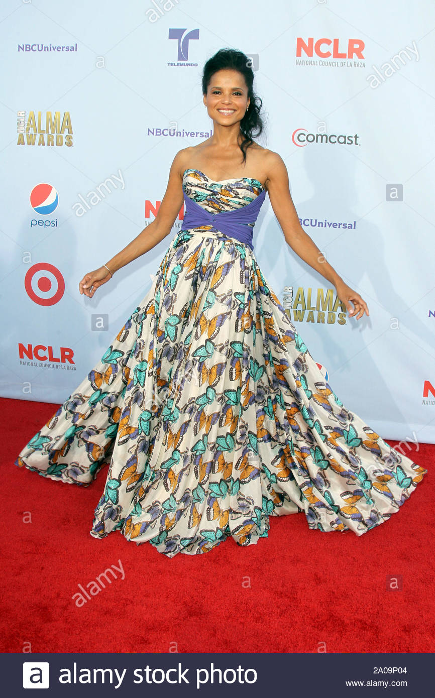 Pasadena, CA - Daphne Wayans on the red carpet for the 2012 NCLR ALMA Awards at Pasadena Civic Auditorium. AKM-GSI September 16, 2012 Stock Photo