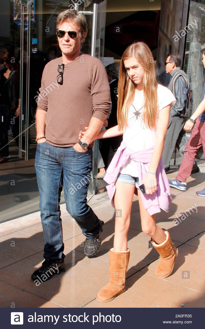 West Hollywood Ca Lisa Rinna And Harry Hamlin Take Their
