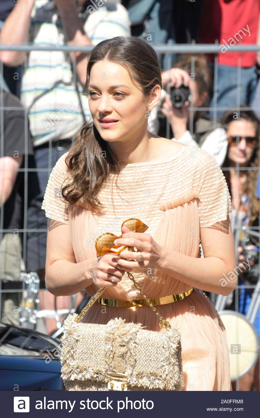 Cannes France French Actress Marion Cotillard Arrived For