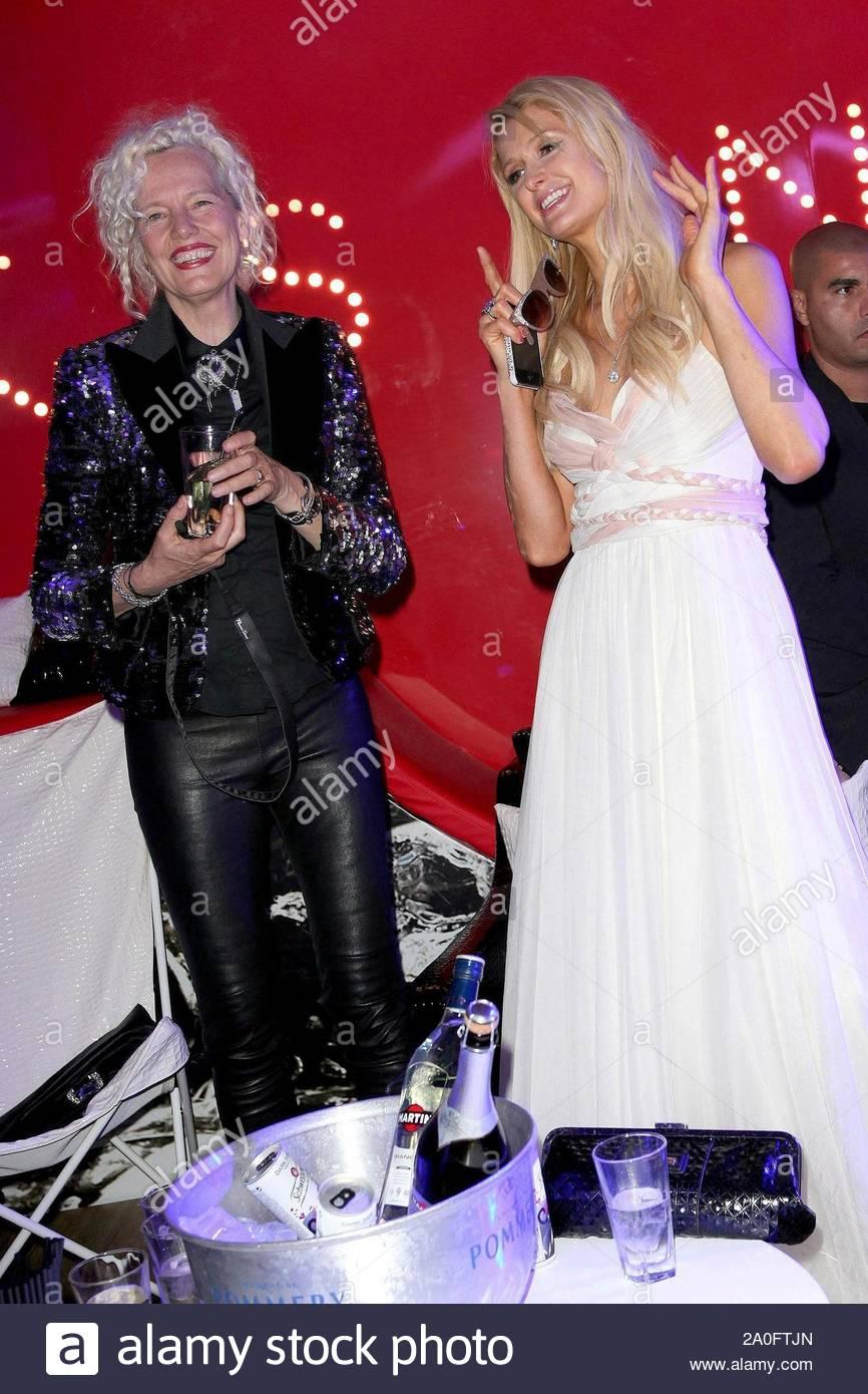 Cannes France Paris And Nicky Hilton Attend Ellen Von