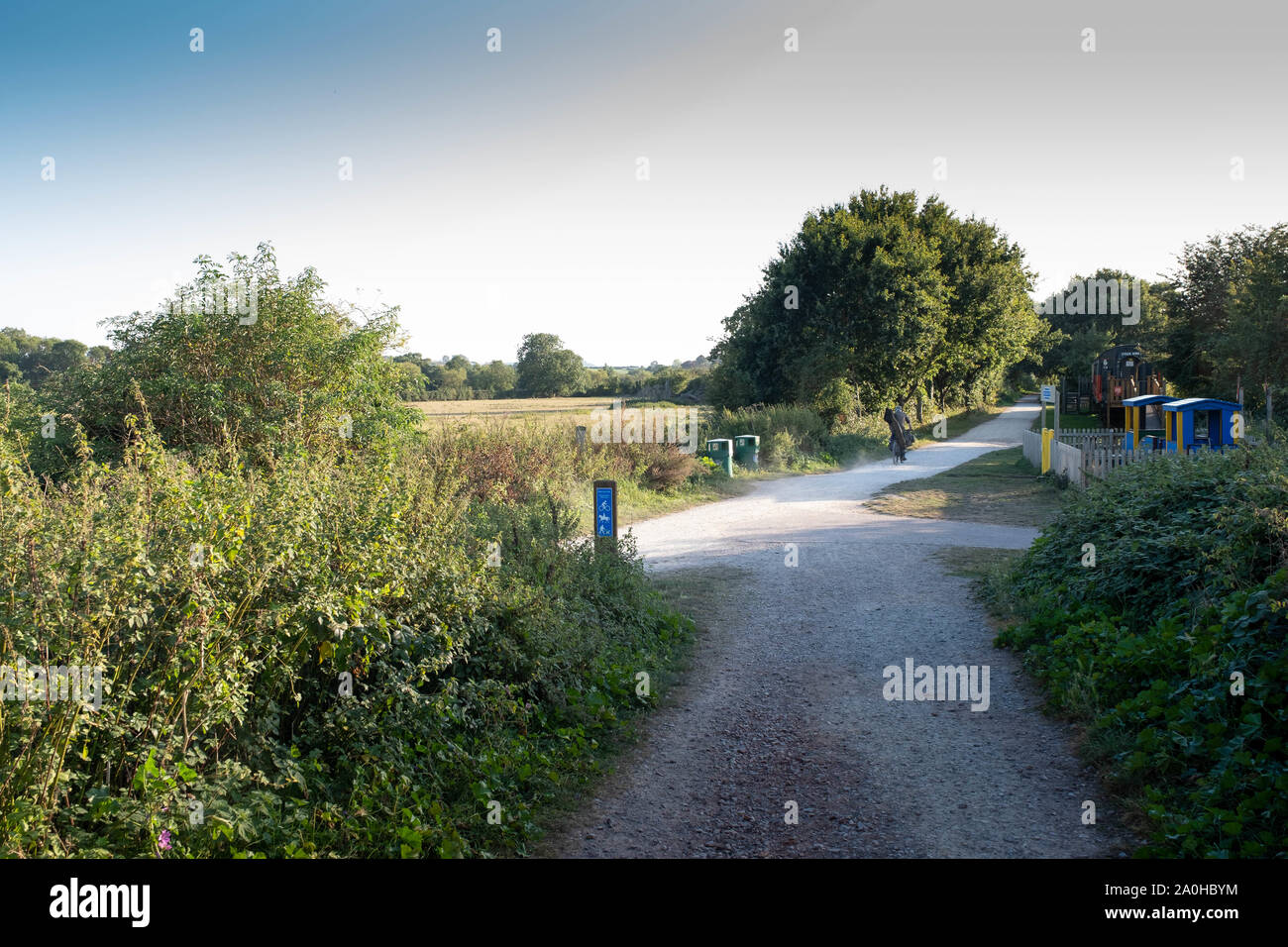 Stratford Greenway, Warwickshire Country Parks Stock Photo