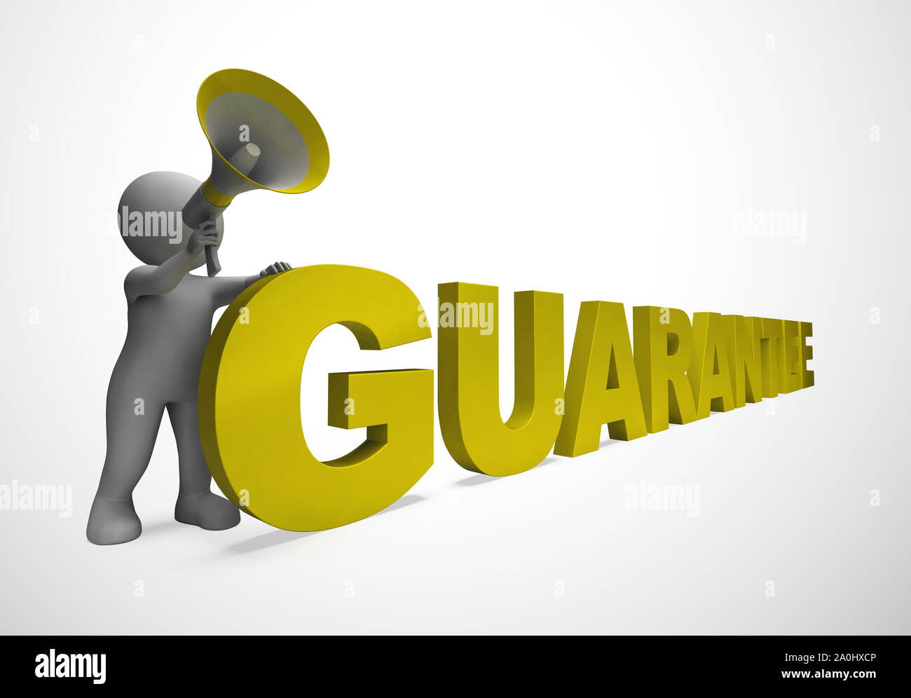 Guarantee Concept Icon Means A Safeguard Or Insurance Against Product Faults Dependable Agreement Against Consumer Dissatisfaction 3d Illustration Stock Photo Alamy