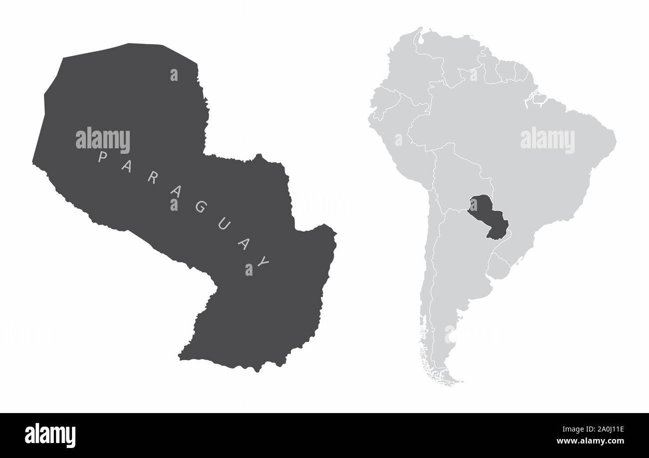 South America Map Spanish Cut Out Stock Images & Pictures ...
