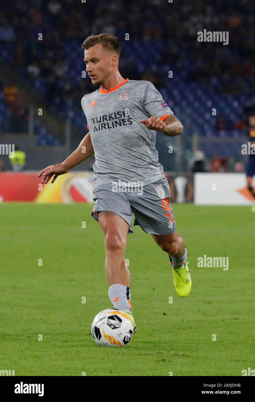 Fredrik Gulbrandsen during the Europa League Group stage soccer match  between AS Roma - Instabul Basaksehir at