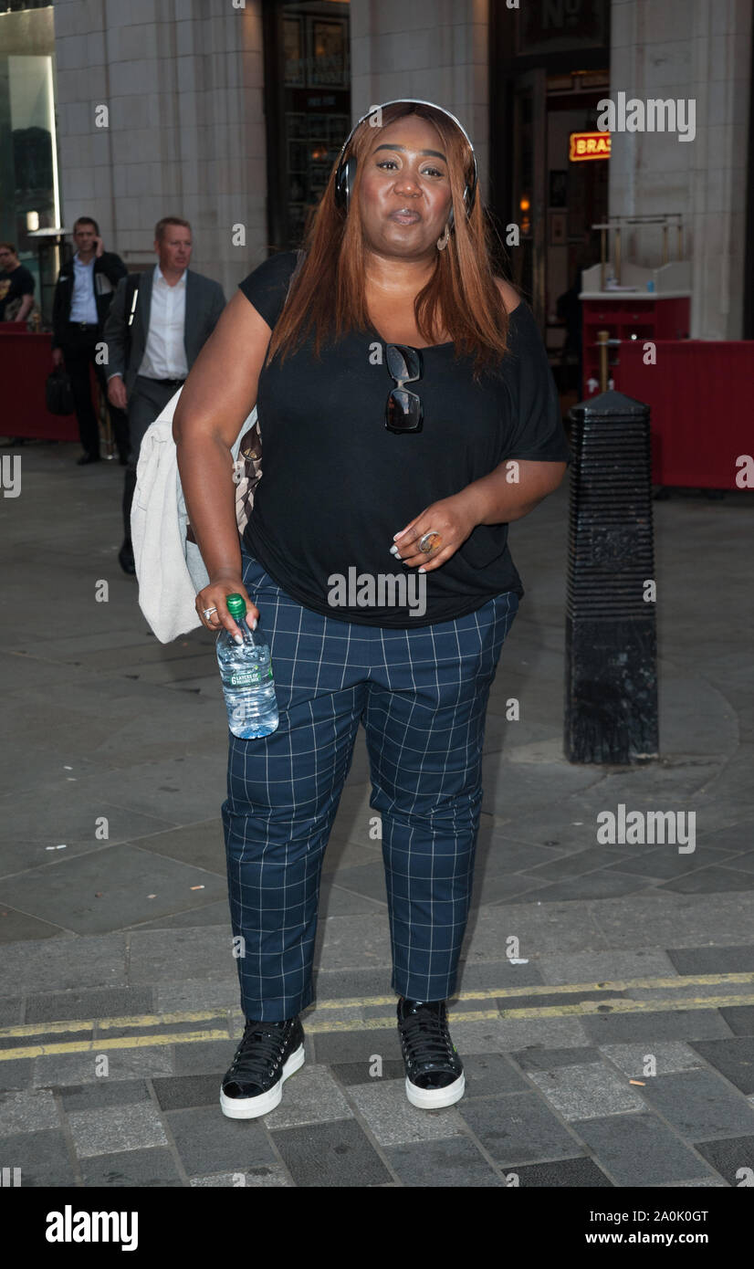 Chizzy Akudolu at the red carpet for Heartbeat of Home press night, at Piccadilly Theatre. London Stock Photo