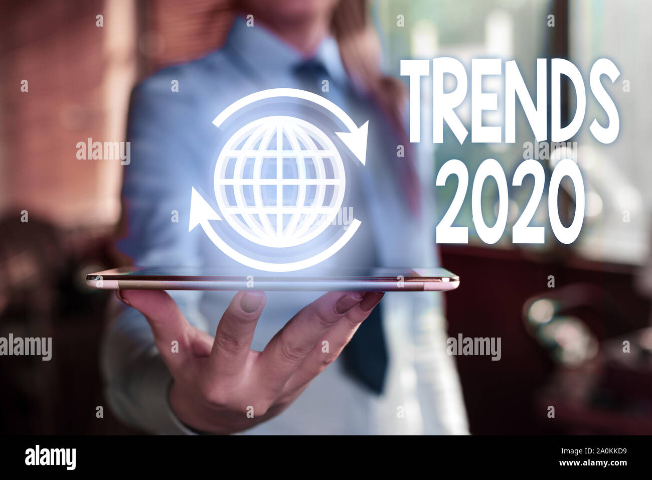 Upcoming Trends 2020.Word Writing Text Trends 2020 Business Photo Showcasing