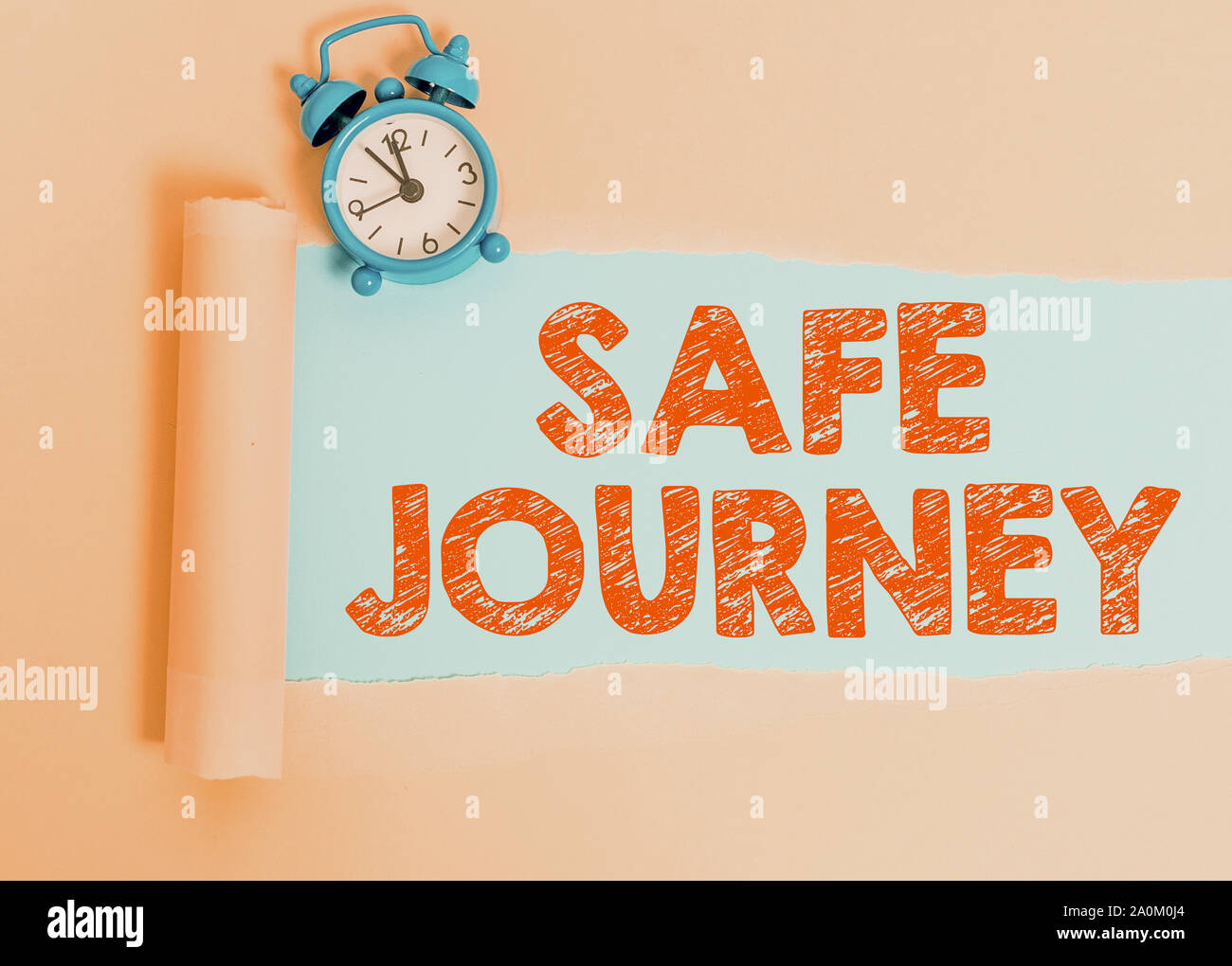 Text Sign Showing Safe Journey Business Photo Showcasing Blessing Bid Farewell Drive Carefully Use Seatbelt Strap Stock Photo Alamy