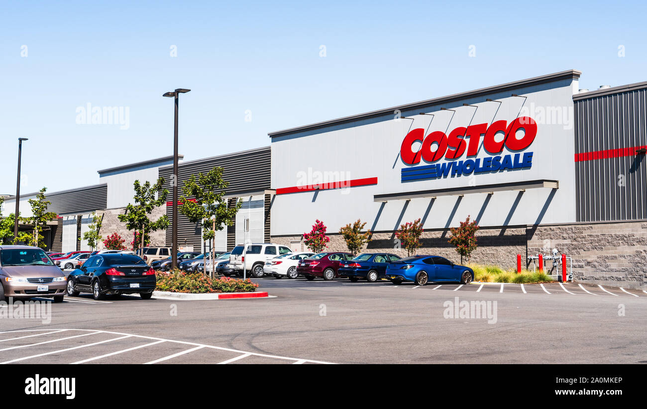 San Jose Car Dealerships >> Sep 19 2019 San Jose Ca Usa Costco Wholesale Store In