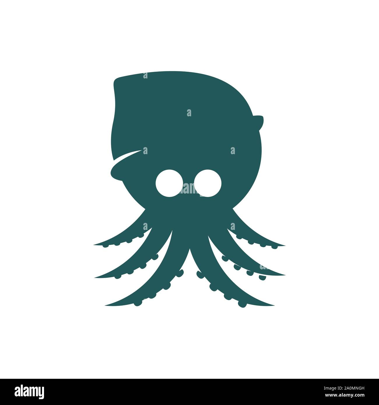 simple modern octopus squid logo design vector illustrations stock vector image art alamy https www alamy com simple modern octopus squid logo design vector illustrations image327452961 html
