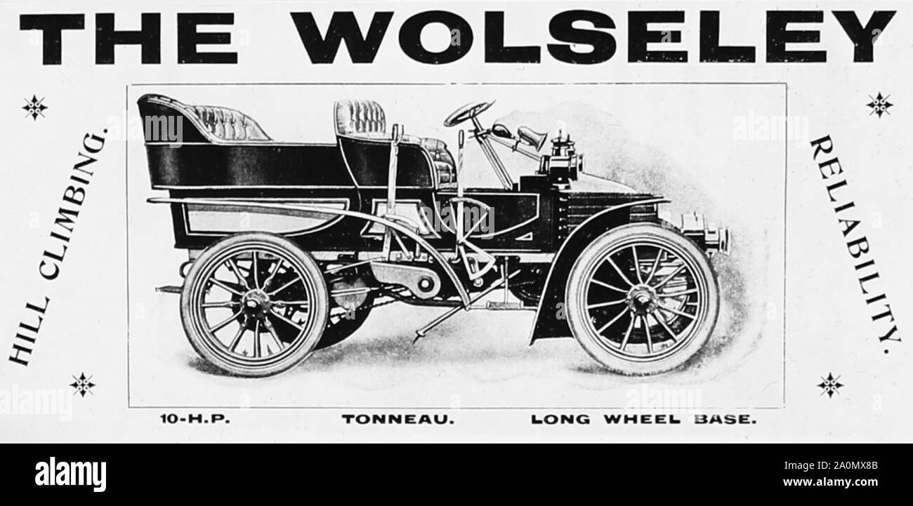 Wolseley 8 e 12 distributore PAC 1946-48