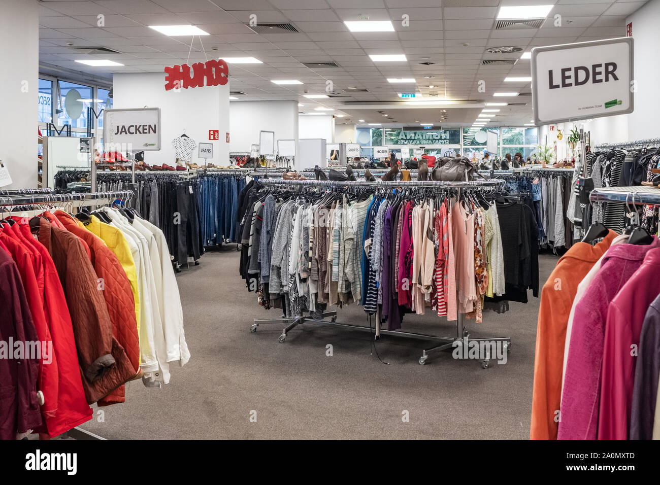 Clothes Wholesale High Resolution Stock Photography And Images Alamy