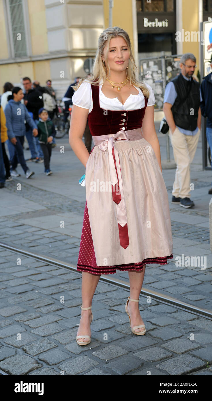 Munich Germany 21st Sep 2019 Start Of The Oktoberfest