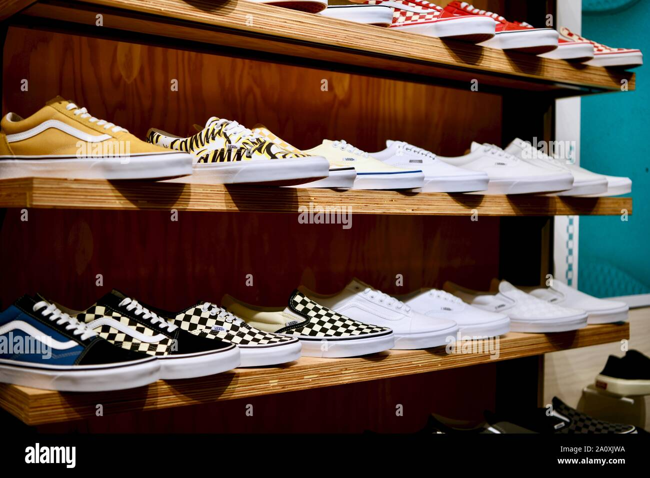 Vans Shoes Stock Photos & Vans Shoes Stock Images - Alamy