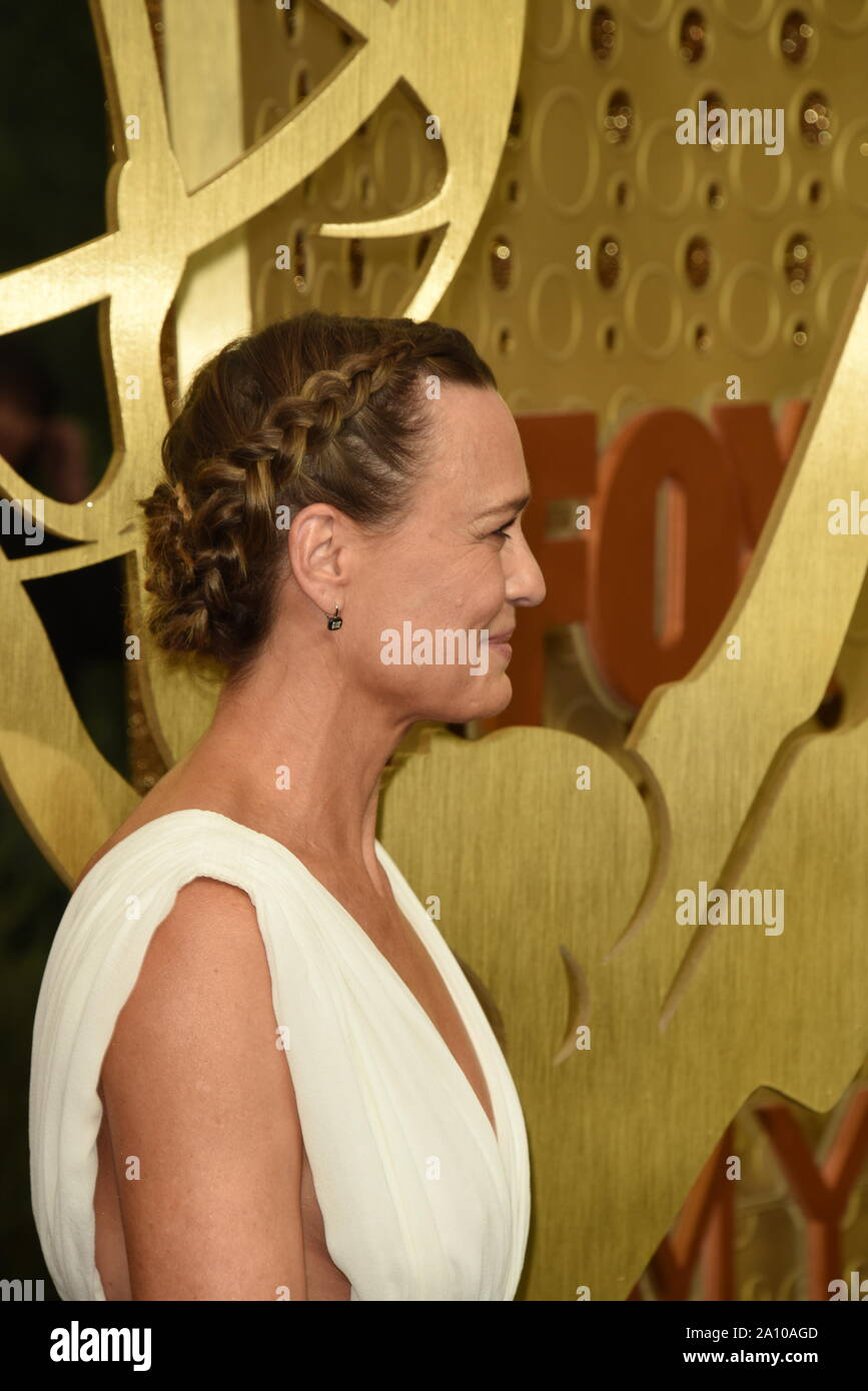 September 22, 2019, Los Angeles, California, USA: ROBIN WRIGHT during arrivals for the Primetime Emmy Awards, at the Microsoft Theater. (Credit Image: © Kathy Hutchins/ZUMA Wire) Stock Photo