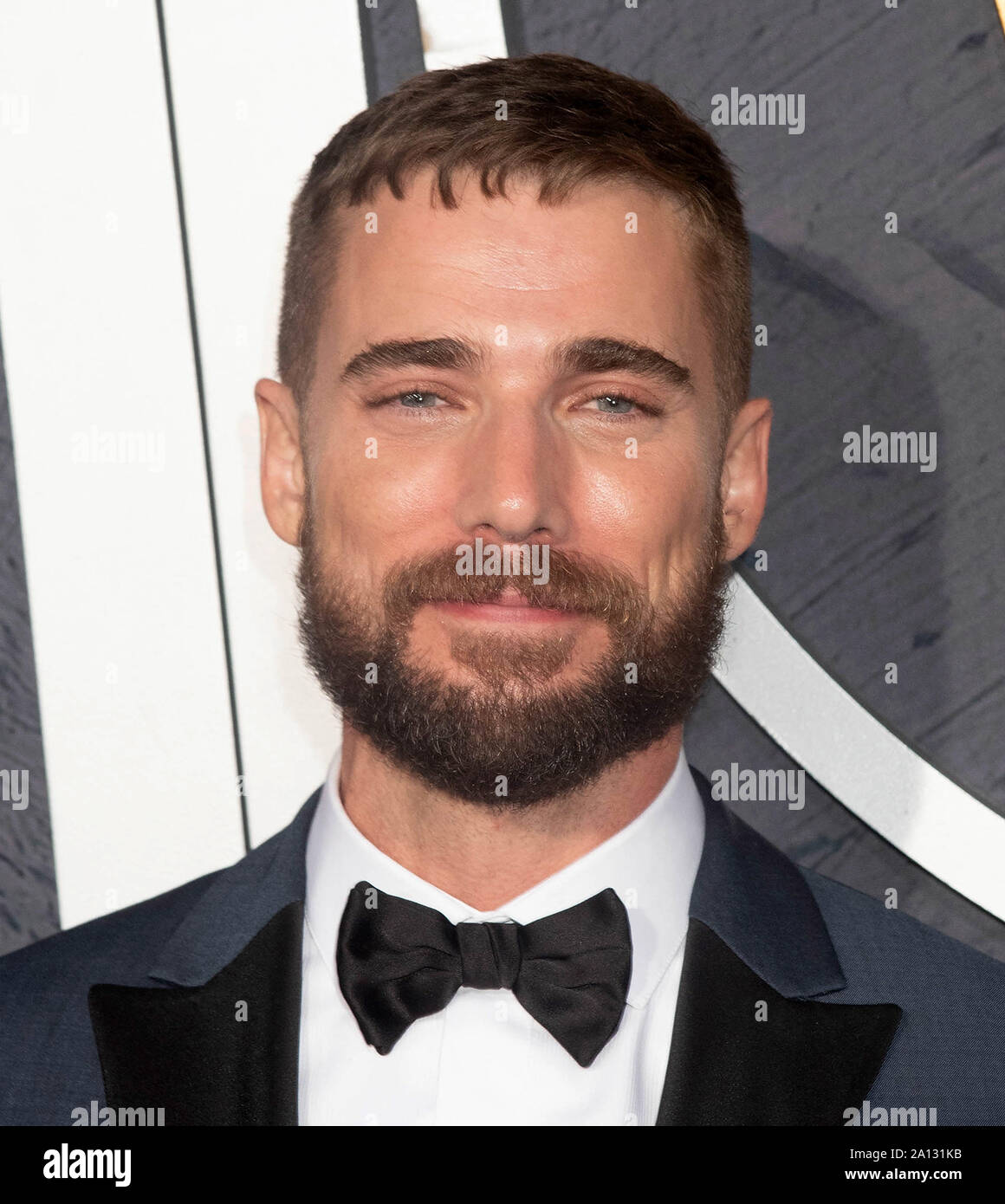LOS ANGELES, CALIFORNIA - SEPTEMBER 22: Dustin Milligan attends HBO's Post Emmy Awards Reception at The Plaza at the Pacific Design Center on September 22, 2019 in Los Angeles, California. Photo: Annie Lesser/imageSPACE/MediaPunch Stock Photo