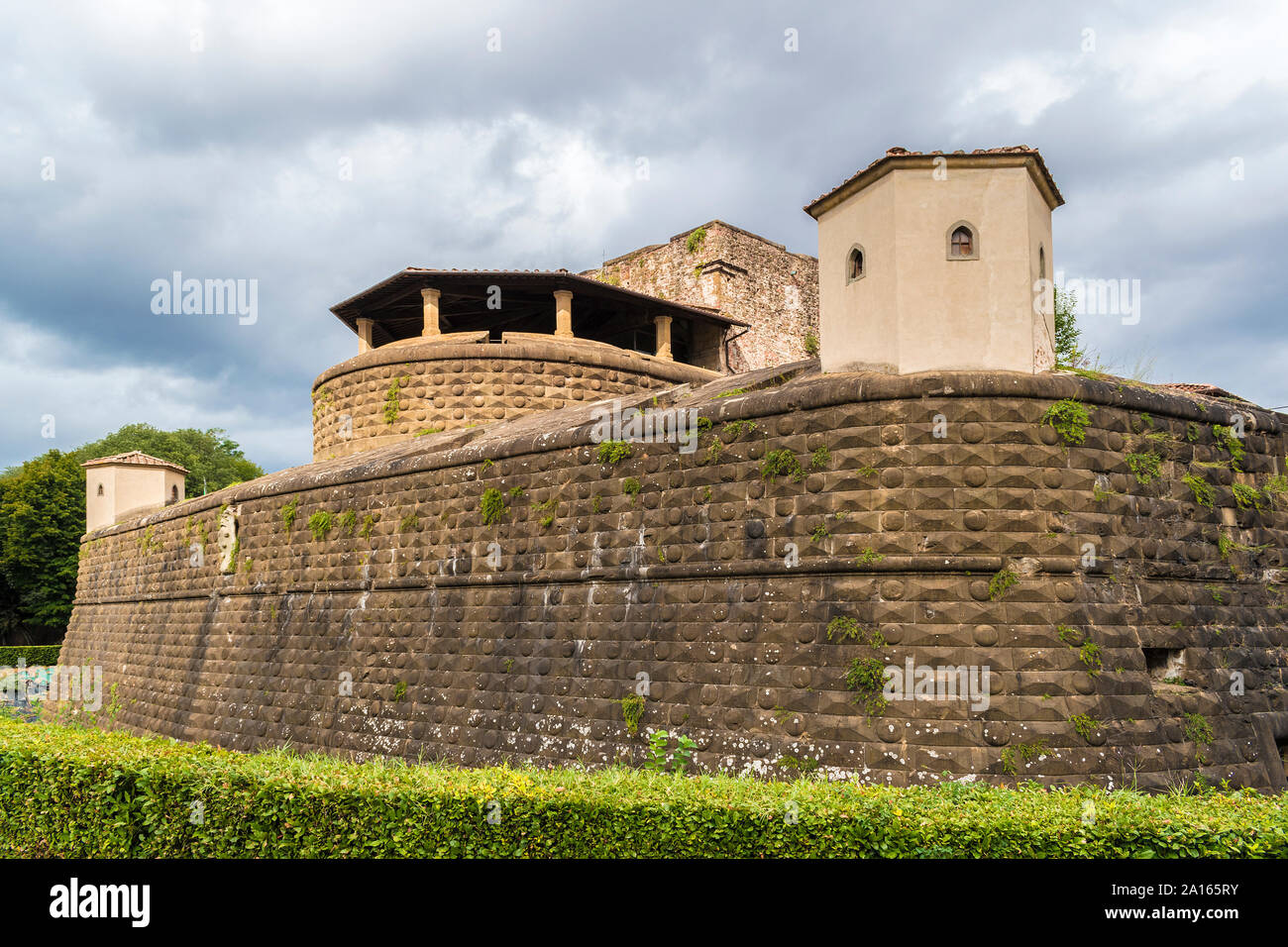 the 14th century fortezza da basso, florence, tuscany, italy Stock Photo