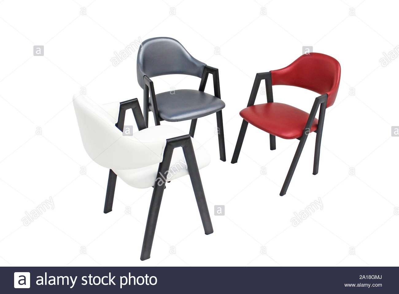Marvelous Dining Chair Isolated Metal Upholstered Armchair Design For Pdpeps Interior Chair Design Pdpepsorg