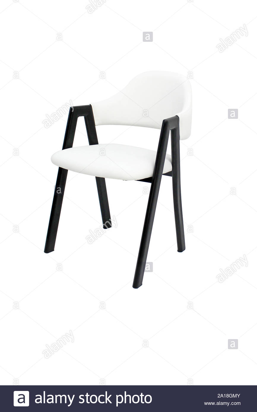 Awe Inspiring Dining Chair Isolated Metal Upholstered Armchair Design For Ibusinesslaw Wood Chair Design Ideas Ibusinesslaworg