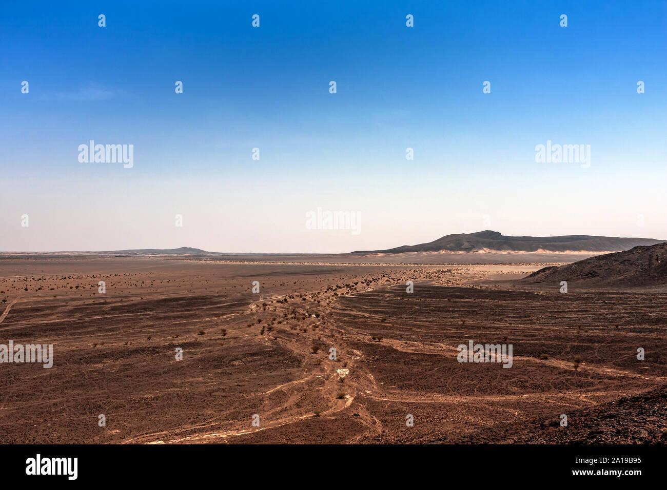An Aerial View Of The Harrat Kishb Volcanic Field Makkah Province Saudi Arabia Stock Photo Alamy