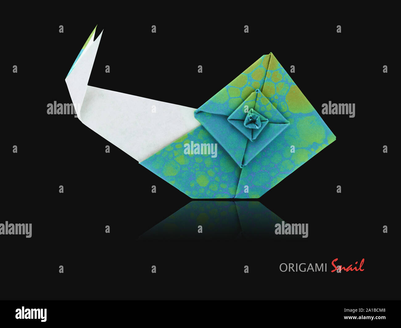 Origami Snail Tutorial & Quick Overview of 'The Origami Garden' by ... | 1065x1300