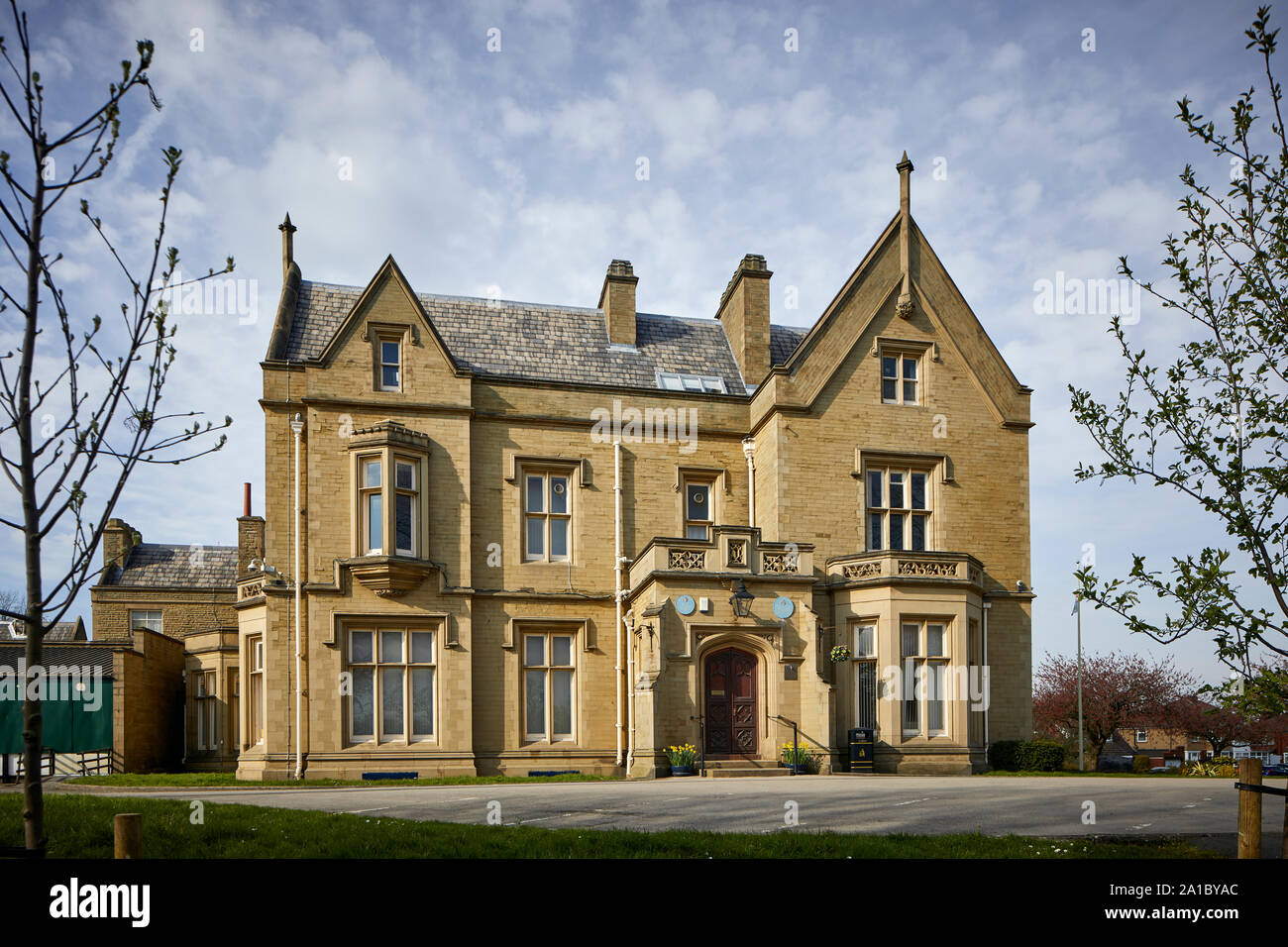 Tameside Ryecroft Hall Manchester Rd, Audenshaw, beautiful Grade II listed civic building donated to the people of Audenshaw by Austin Hopkinson in 19 Stock Photo