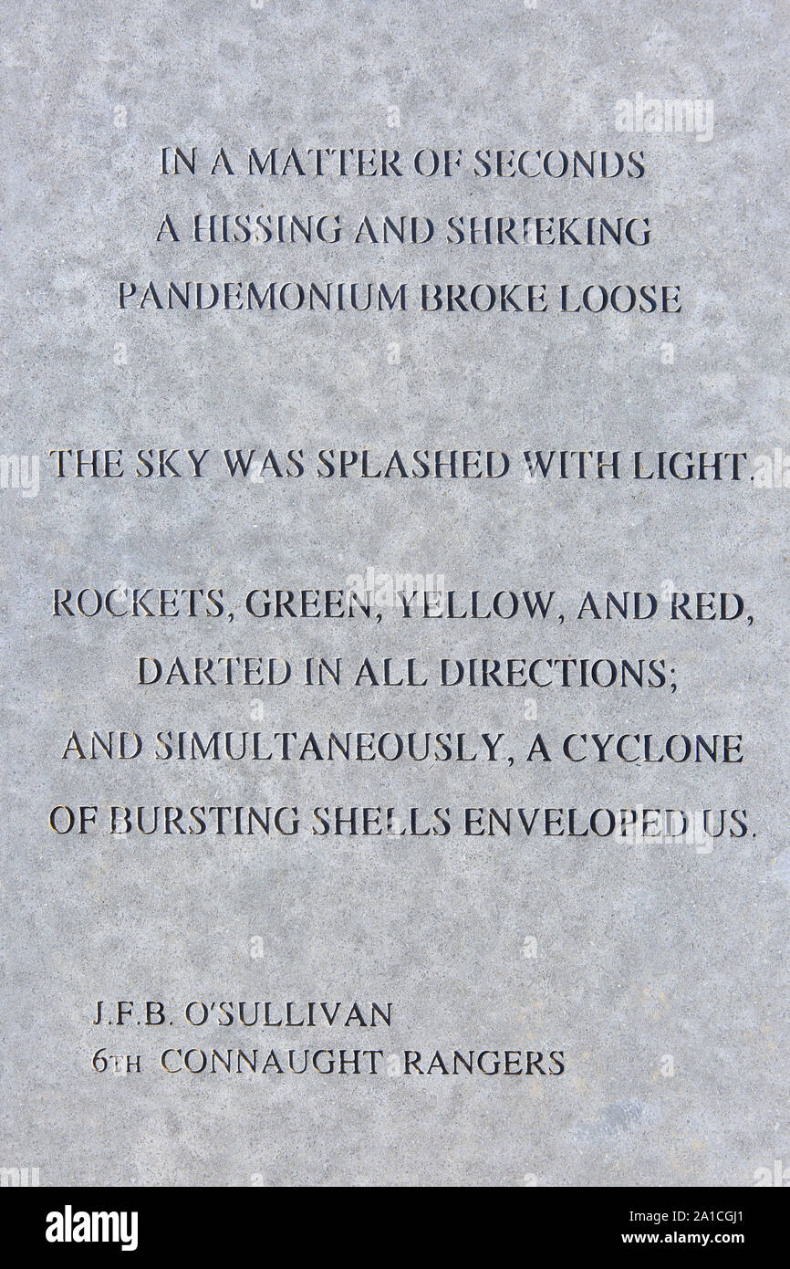 A Poem By Lieutenant John Francis Blake Osullivan Of The