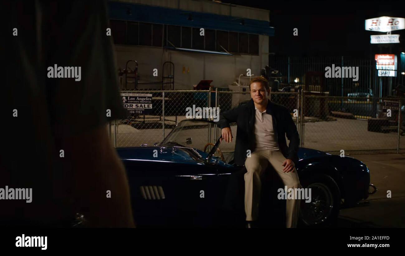 Le Mans 66 Ford V Ferrari 2019 De James Mangold Matt Damon