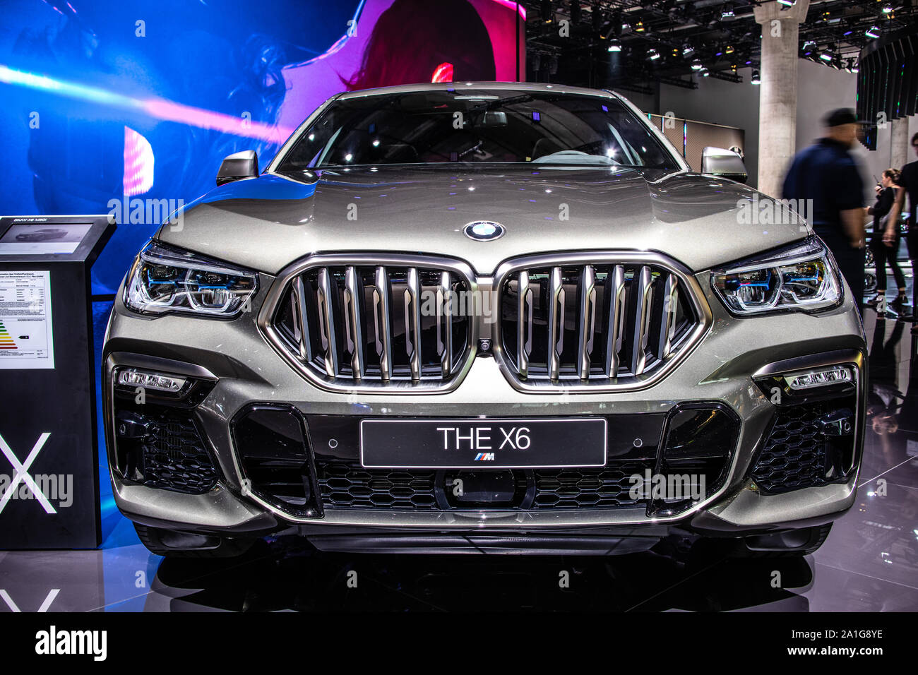 Frankfurt Germany Sep 2019 All New Bmw X6 3rd Gen At Iaa Third Generation G06 2020 Model Year Mid Size Luxury Crossover Suv Produced By Bmw Stock Photo Alamy