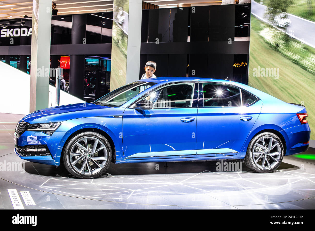 Skoda Superb High Resolution Stock Photography And Images Alamy