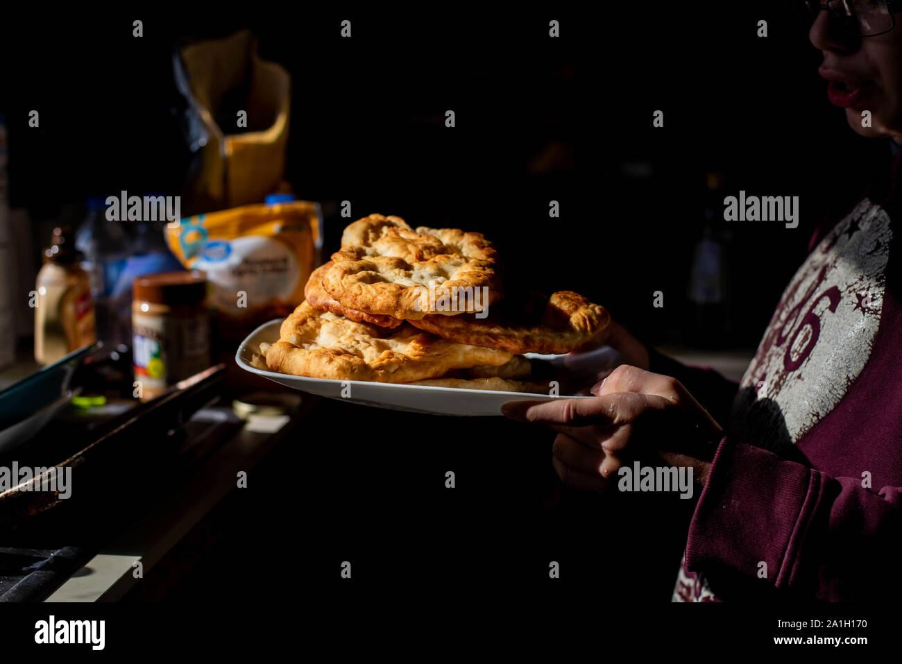 Fry Bread Native American Stock Photos Fry Bread Native