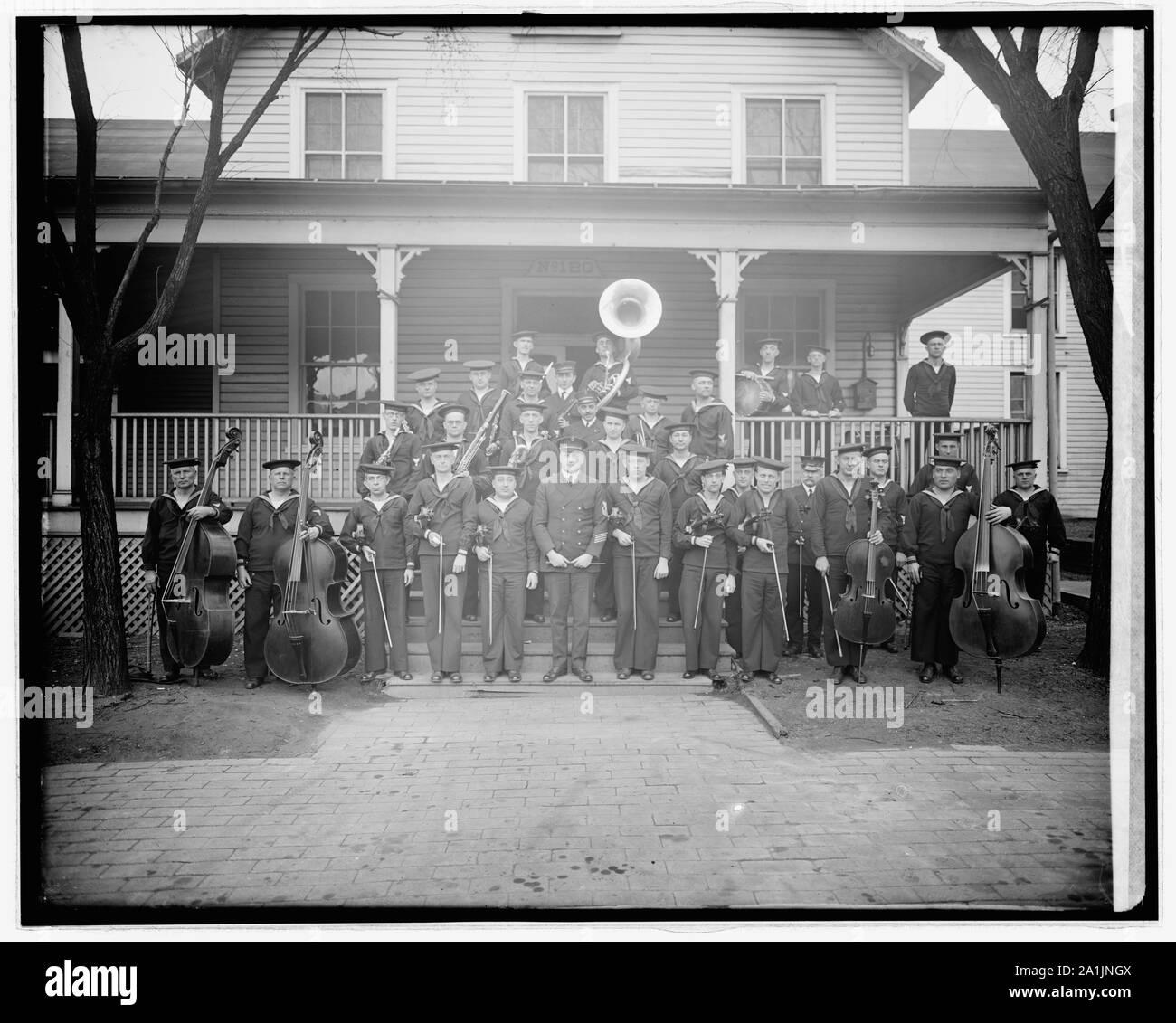 Navy Yard band Stock Photo