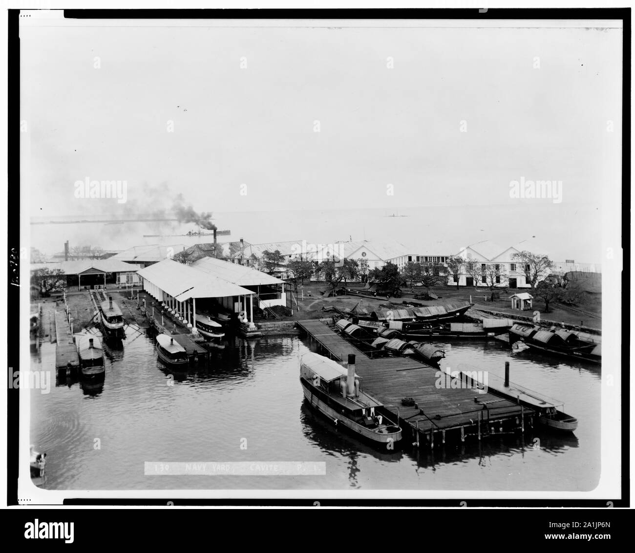 Navy yard, Cavite, P.I. Stock Photo
