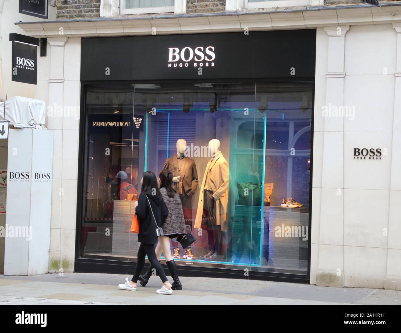 hugo boss new bond street