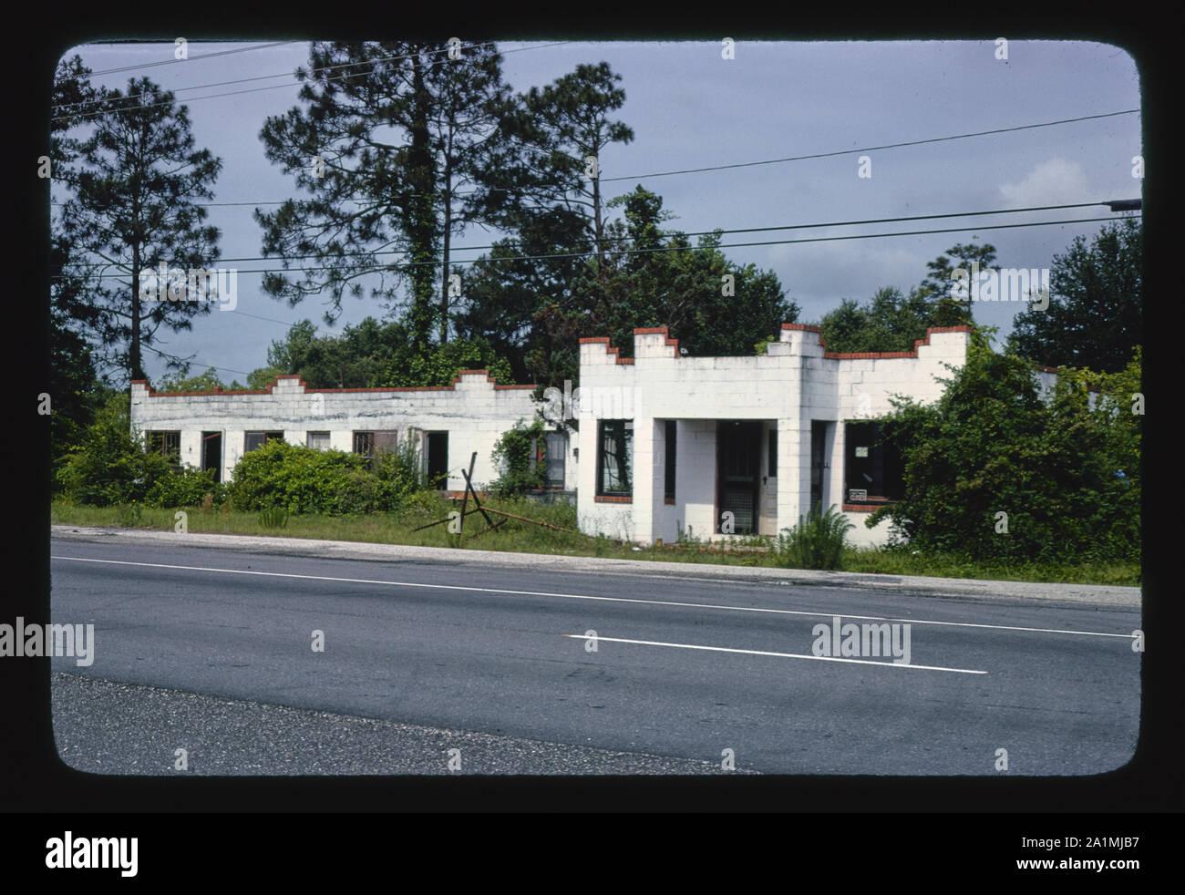 "Old Photo Charleston South Carolina /""Palms Motel/"""