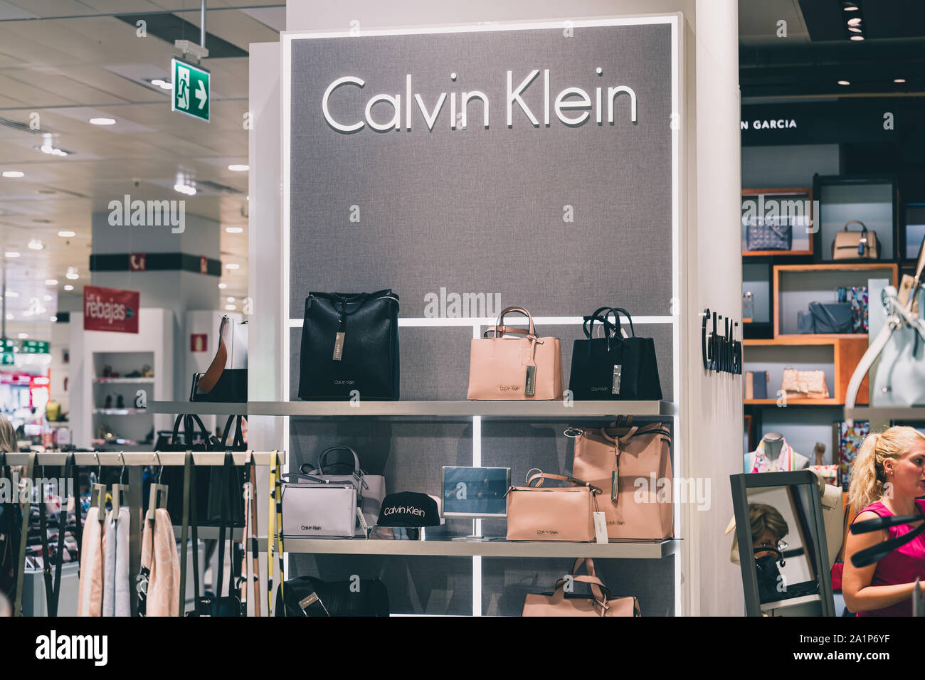 Calvin Klein Boutique High Resolution Stock Photography And Images Alamy