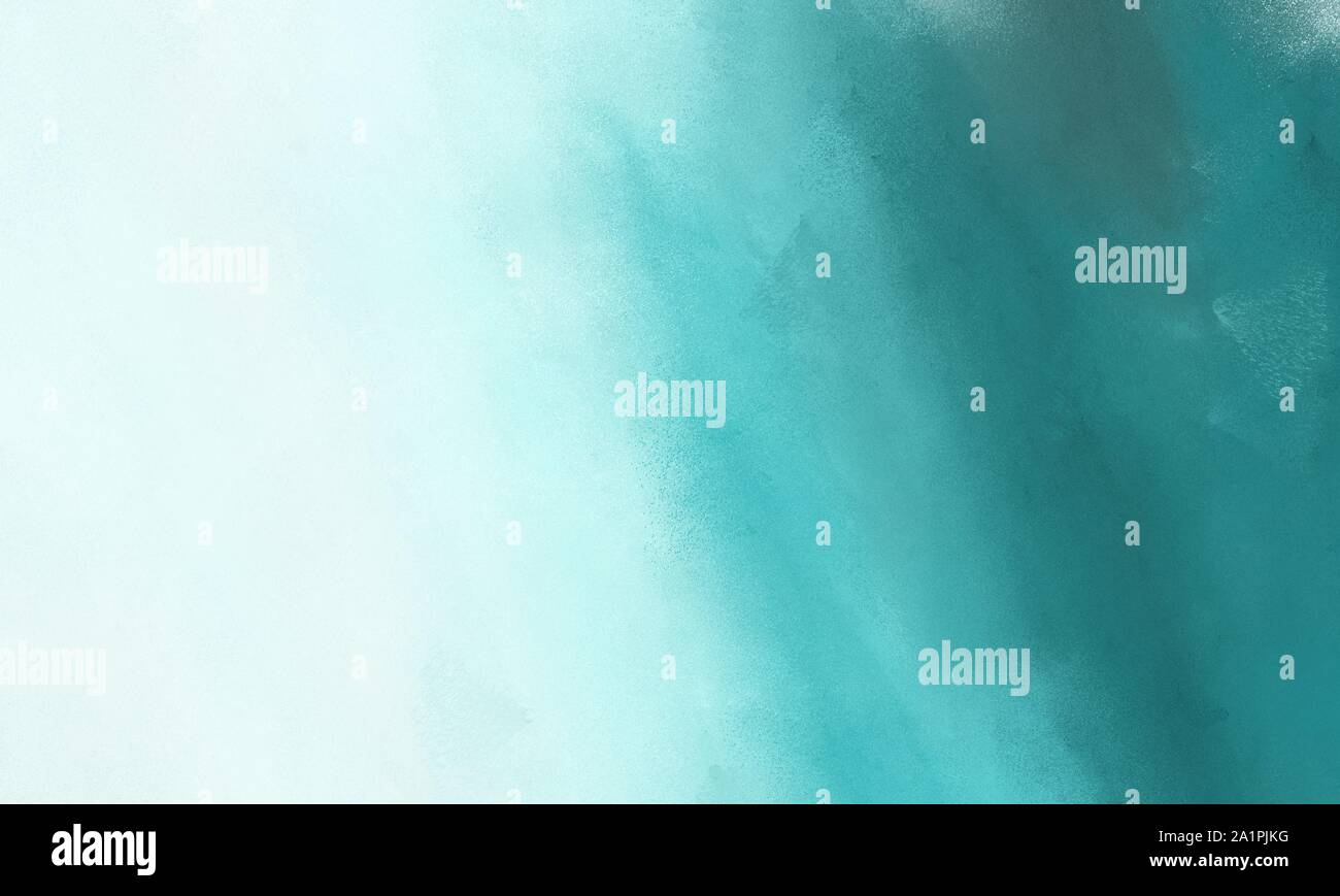 Diffuse Painted Texture Background With Teal Blue Medium