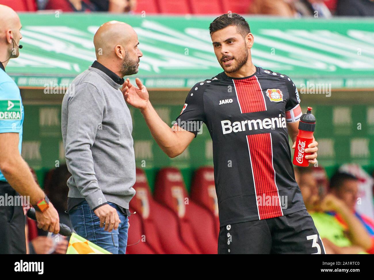 Kevin Volland Bayer 04 Leverkusen High Resolution Stock ...