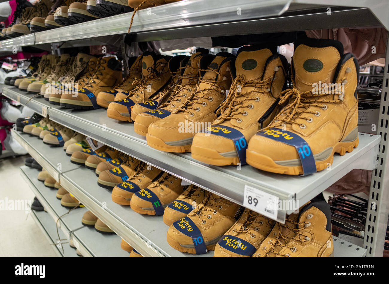 Safety Shoes High Resolution Stock