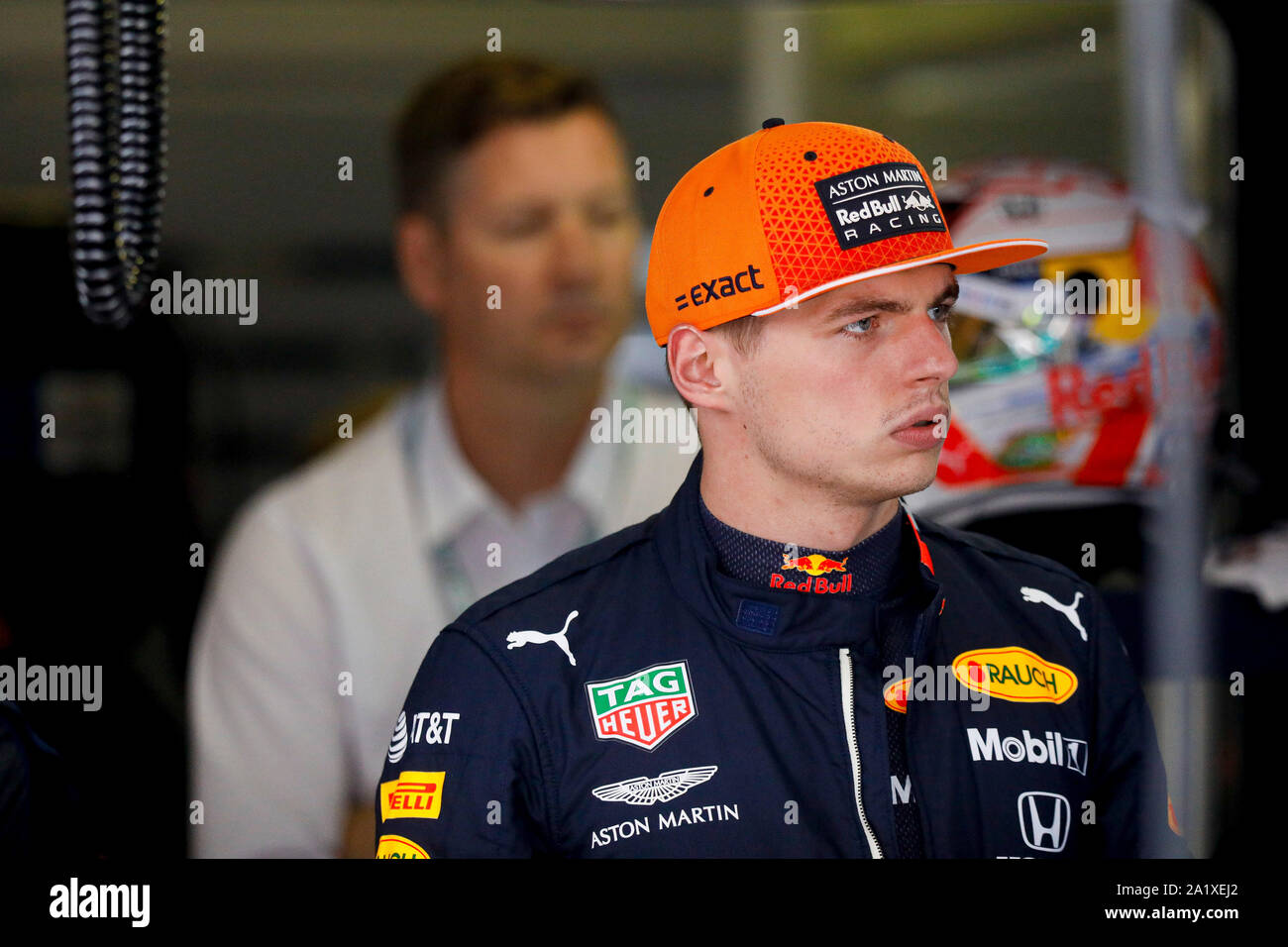 Max Verstappen Of Aston Martin Red Bull Racing At The Formula 1 Italian Grand Prix At Monza Eni Circuit In Monza Italy Stock Photo Alamy