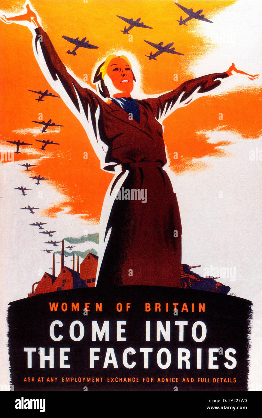 """Poster 8.5/"""" x 11/"""" WWII  Its up to You Britannia 1939-1946"""