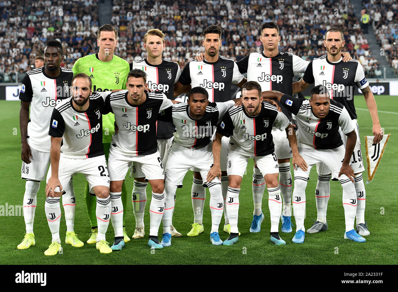 Juventus Team Photo High Resolution Stock Photography And Images Alamy