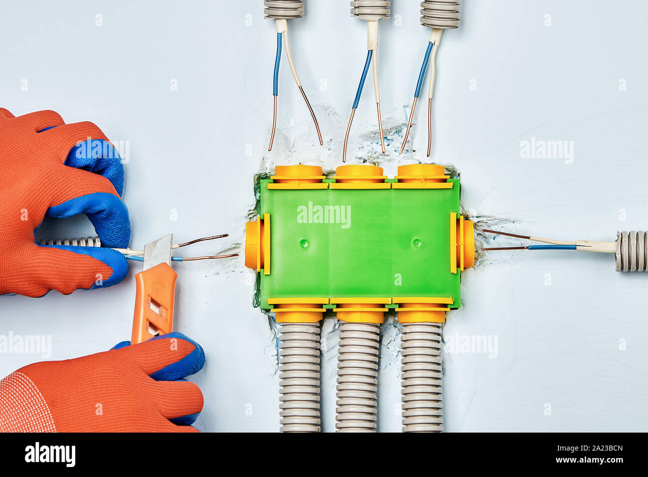 Electrical Conduit Stock Photos & Electrical Conduit Stock ... on