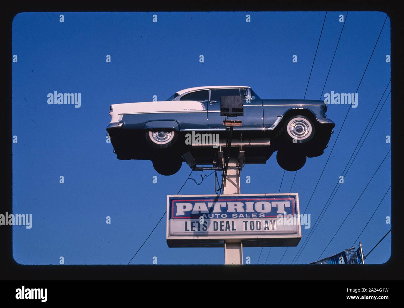 Patriot Auto Sales >> Patriot Auto Sales Sign Clearlake Street Springfield