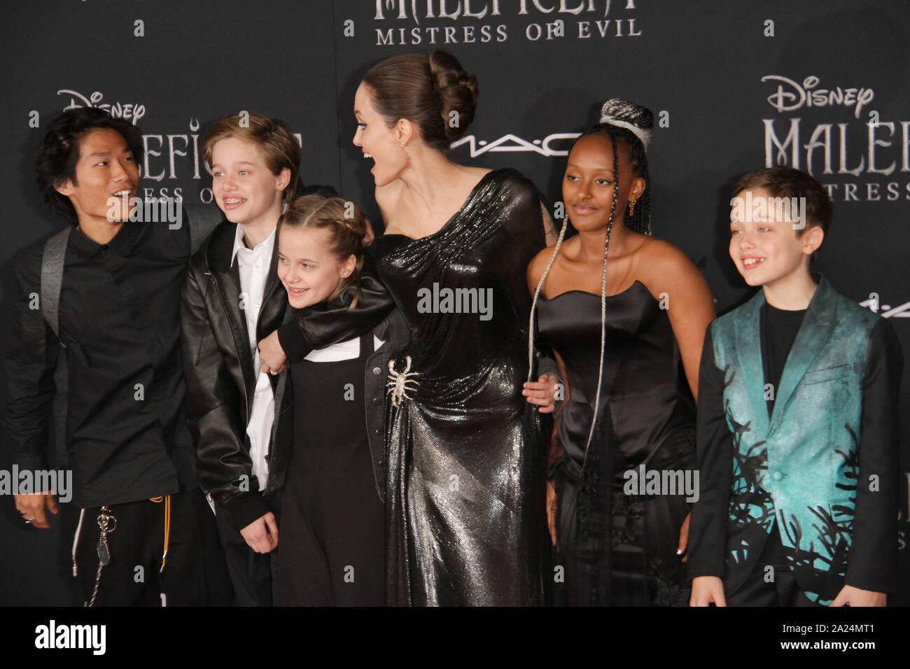 Los Angeles Usa 30th Sep 2019 Pax Jolie Pitt Shiloh
