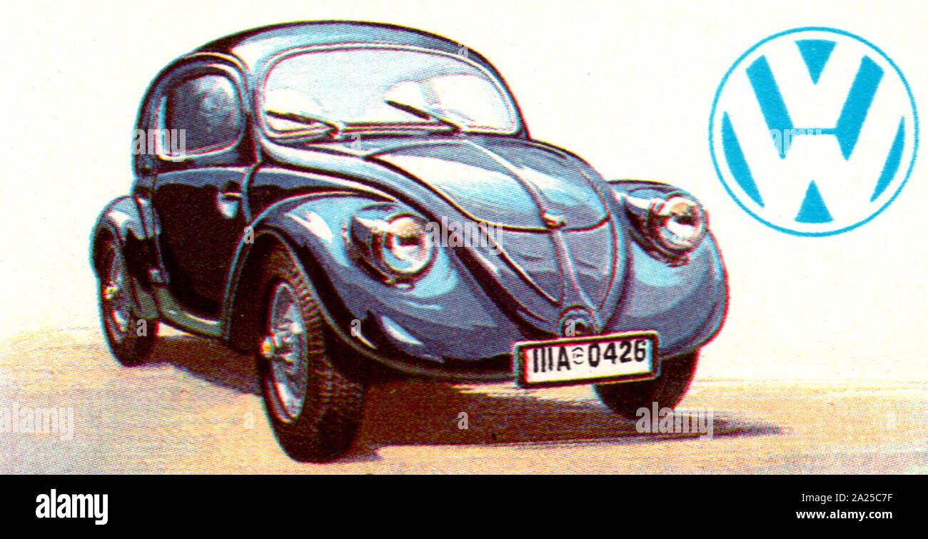 1935 Volkswagen V3 prototype 996 cc automobile Stock Photo