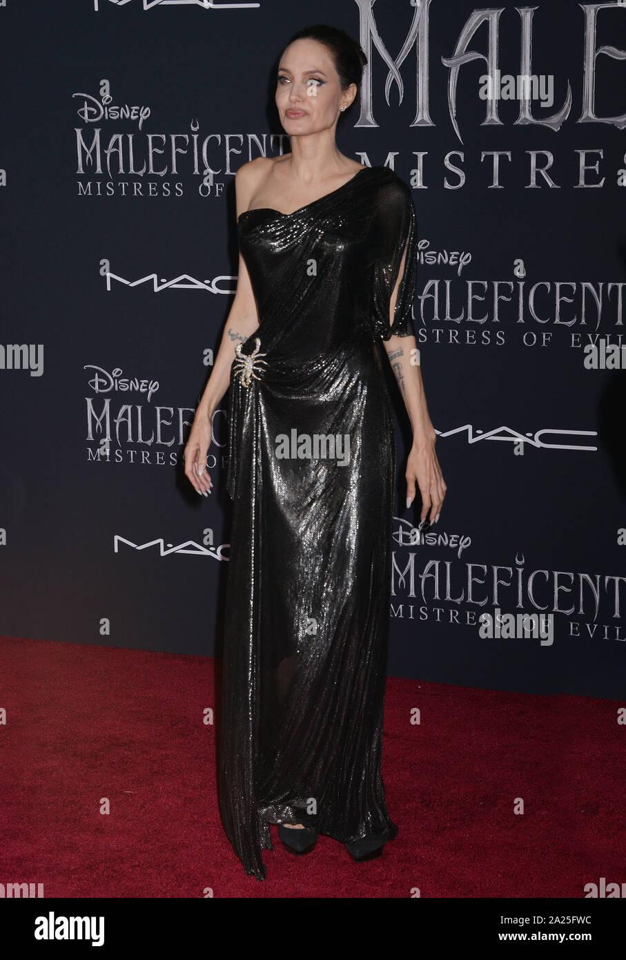 Los Angeles Usa 30 Sept 2019 Angelina Jolie 117 Attends