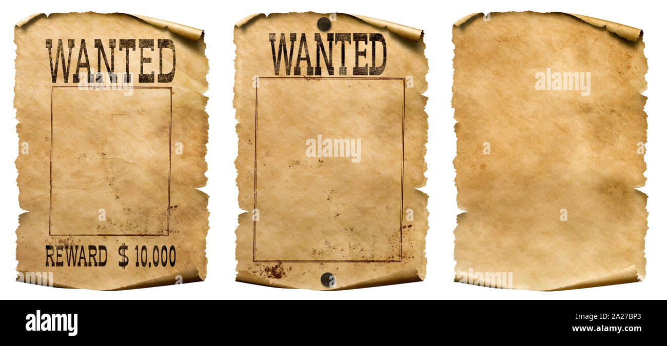 Wanted Posters High Resolution Stock Photography And Images Alamy