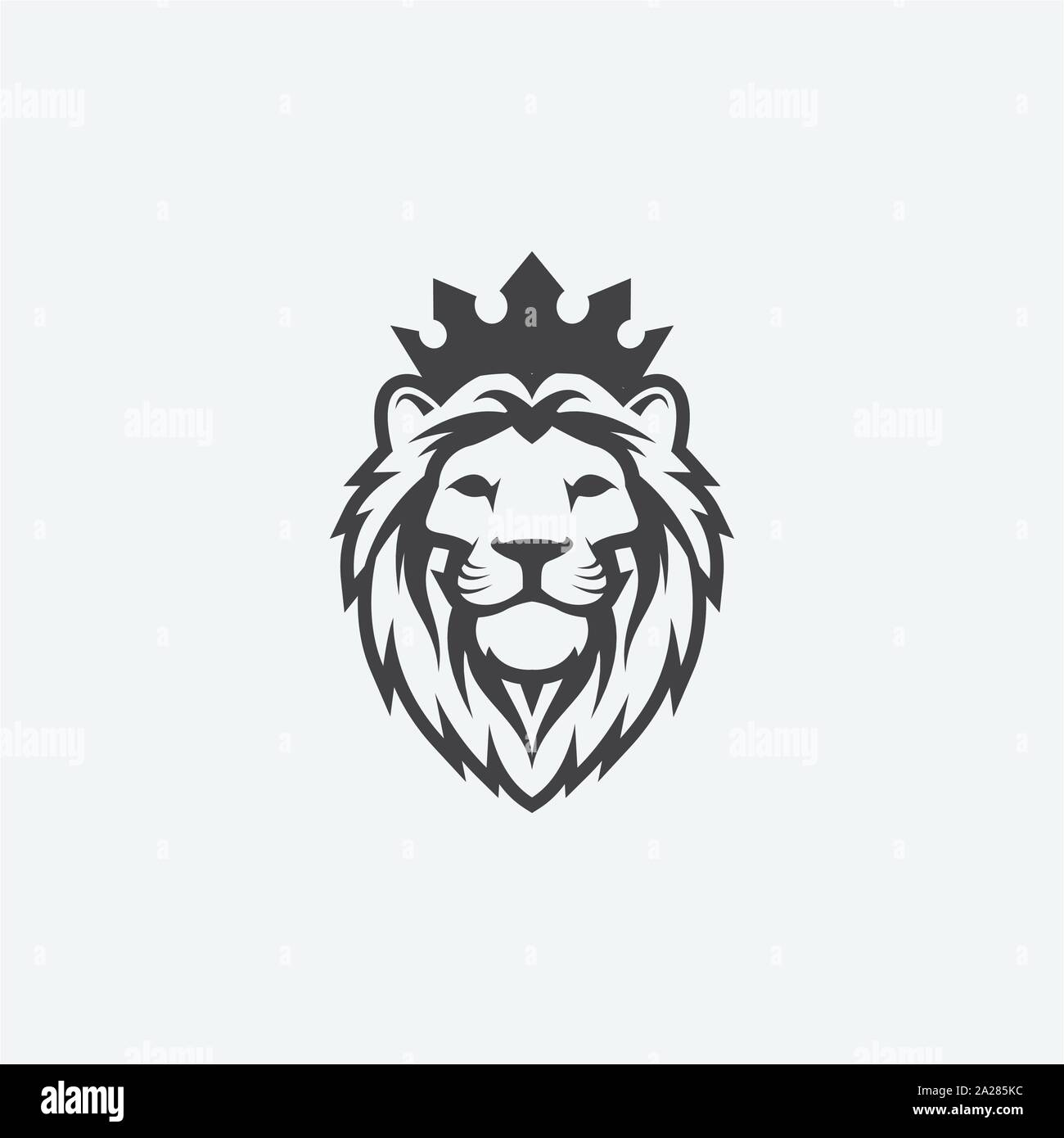 Lion Logo Vector Design Template High Resolution Stock Photography And Images Alamy Download 5,400+ royalty free lion crown vector images. alamy